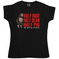 Manbearpig Super Cereal Inspired By South Park Womens T Shirt