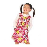 McCalls Girls Easy Sewing Pattern 6983 Pinafore Dresses