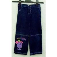 M&Co Mr Men Little Miss jeans Size 4-5years