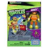 Mega Bloks - Teenage Mutant Ninja Turtles Figure With Accessories - Mickey (dmx27)