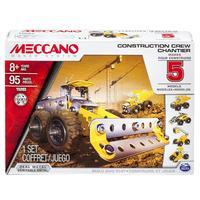 Meccano Build and Play Construction Crew