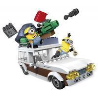Mega Bloks Minions Station Wagon Getaway Car
