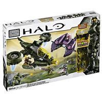 Mega Bloks Halo UNSC 97123 Hornet V Covenant Vampire - Damaged