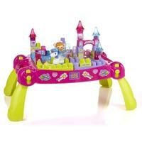 Mega Bloks Lil\' Princess Play \'n Go Fairytale Table - Damaged