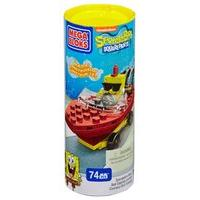 Mega Bloks Spongebob Squarepants Sponge Bob Boat Racer