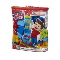 MEGA BLOKS Maxi -Trendy Building Blocks Bag (60 Pieces)