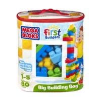 MEGA BLOKS First Builders Building Blocks 60 Pcs