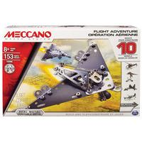 Meccano Multimodels 10 Model Flight Adventure Set