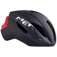 MET Strale Helmet | Black/Red - M