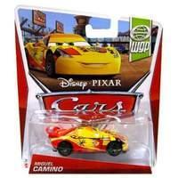 MIGUEL CAMINO #7 - Cars 2 - Disney Pixar diecast World Grand Prix Spain NEW