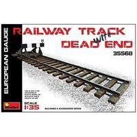 Miniart 1/35 Railway Track & Dead End European Gauge # 35568
