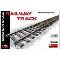 Miniart 1/35 Railway Track European Gauge # 35561