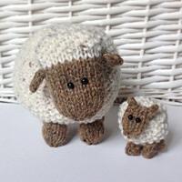 Moss the Sheep in Aran by Amanda Berry - Digital Version