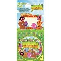 Moshi Monsters - My Room Sticker Pack {window Sticker/door Sticker & Hanger}