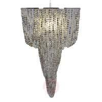 Modern hanging light YOUNG LIVING, silver