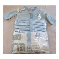 Mothercare - Blue - Babygrow