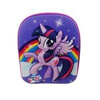 My Little Pony Purple Twilight Sparkle Eva 3d Effect Backpack
