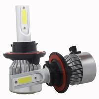 MZ H13 9008 72W 7200lm COB LED Car Hi/Lo Beam Headlight Bulbs (Pair)