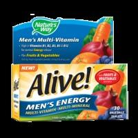 Nature\'s Way Alive! Men\'s Energy Multi-Vitamin 30 Tablets - 30Tablets