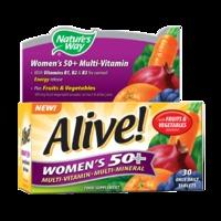 Nature\'s Way Alive! Women\'s 50+ Multi-Vitamin 30 Tablets - 30Tablets