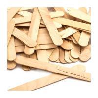 Natural Wooden Craft Sticks 50 Pack