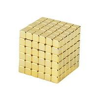 NEWSPOON Magnet Toys 250pcs 5mm Magnet Toys Neodymium Magnet Executive Toys Puzzle Cube DIY Toys Golden Magnetics Cube Education Toys For Gift