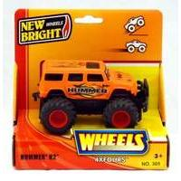 New Bright 5 inch 4x4 Pick Ups - Hummer H2 (ORANGE)