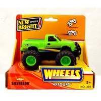 New Bright 5 inch 4x4 Pick Ups - Silverado (GREEN)