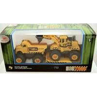 New Bright Wheels 4x4 Fours Construction - Dump and Dozer 2 PACK