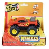 New Bright 5 inch 4x4 Monster Muscle Pontiac GTO (RED)