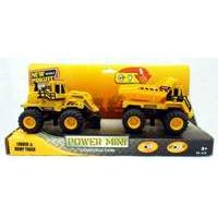 New Bright 5 inch 4x4 Monster Muscle Twin Pack - Loader and Dump Truck