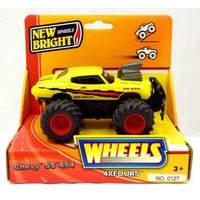 New Bright 5 inch 4x4 Monster Muscle Chevvy SS-454 (YELLOW)