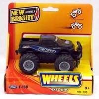 New Bright 5 inch 4x4 Pick Ups - Ford F-150 (BLACK)