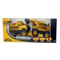 New Bright Wheels 4x4 Fours Construction - Dump and Loader 2 PACK