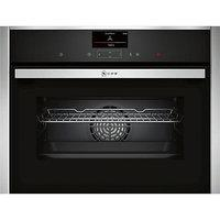 Neff C27CS22N0B Compact CircoTherm Single Electric Oven in Stainless Steel