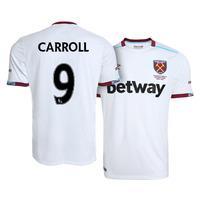 New Carroll #9 West Ham United Away 2016/17 Football Shirt Men Soccer Jersey