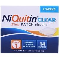 NiQuitin CQ Clear 21mg Step 1 - 2 Week Kit