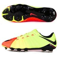 Nike Hypervenom Phinish II Firm Ground Football Boots - Electric Green, Black