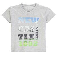 NUFC Photo Text T Shirt Infant Boys