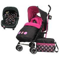 Obaby Disney 2in1 Travel System-Minnie Circles (NEW)