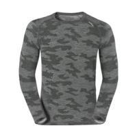 Odlo Revolution TW Warm Shirt l/s Crew Neck Planai Men (110202) camouflage / grey melange