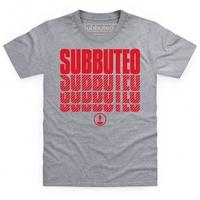 Official Subbuteo Logo Red Kid\'s T Shirt