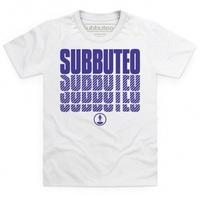 Official Subbuteo Logo Blue Kid\'s T Shirt