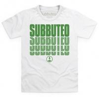 Official Subbuteo Logo Green Kid\'s T Shirt