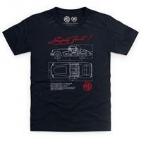 Official MG - MGA Safety Fast Kid\'s T Shirt