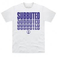 Official Subbuteo Logo Blue T Shirt