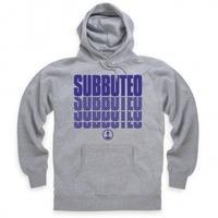Official Subbuteo Logo Blue Hoodie