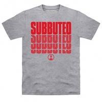 Official Subbuteo Logo Red T Shirt
