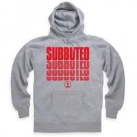 Official Subbuteo Logo Red Hoodie