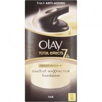 Olay Total Effects 7 in 1 + Touch of Max Factor Foundation for Fair Skin SPF 15 - Pack of 50ml